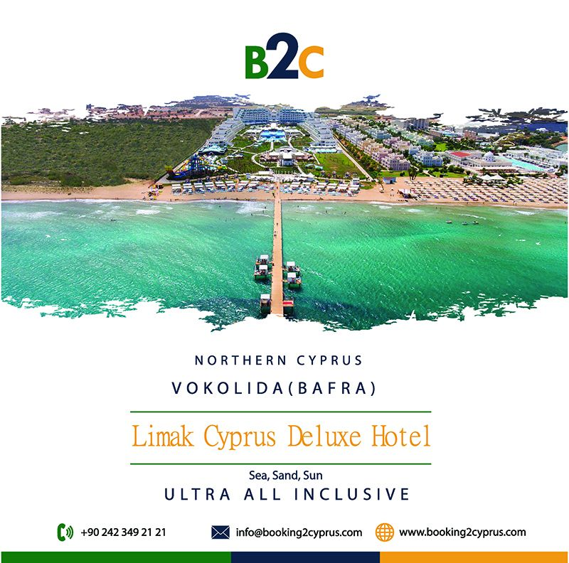 Limak Cyprus Deluxe Hotel 2019 Summer Early Booking Discount